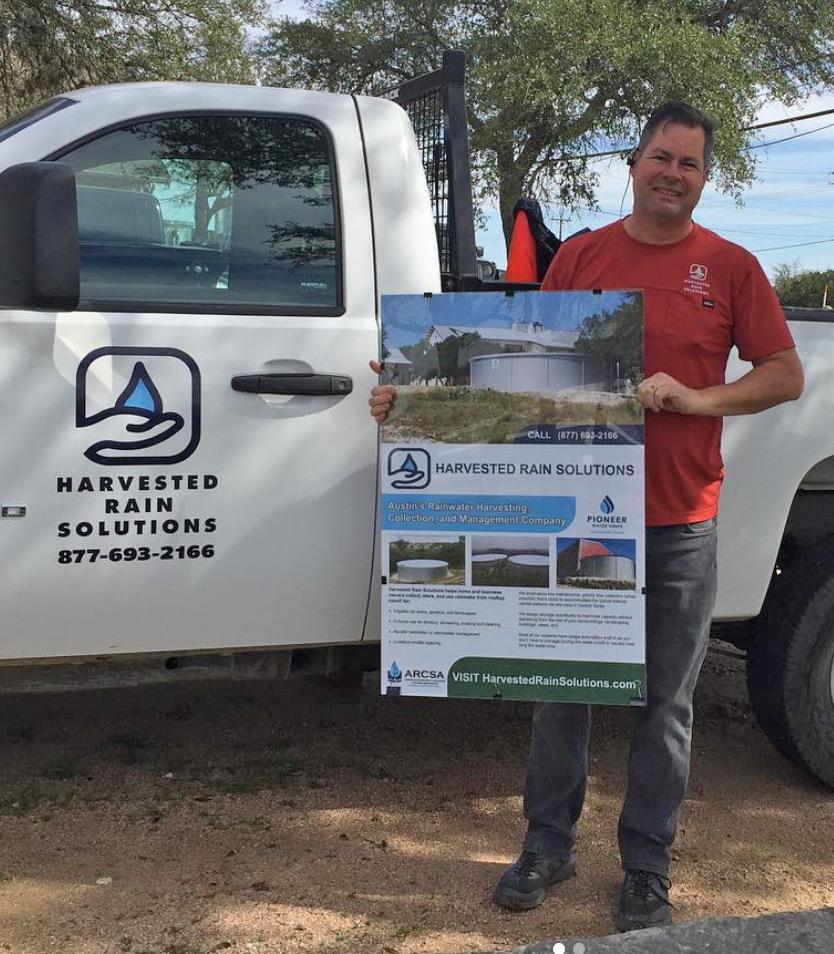 Ron Van Sickle, Harvested Rain Solutions